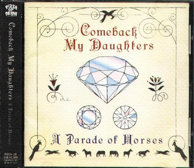 K - Comeback My Daughters - A Parade of Horses 日版 NEW