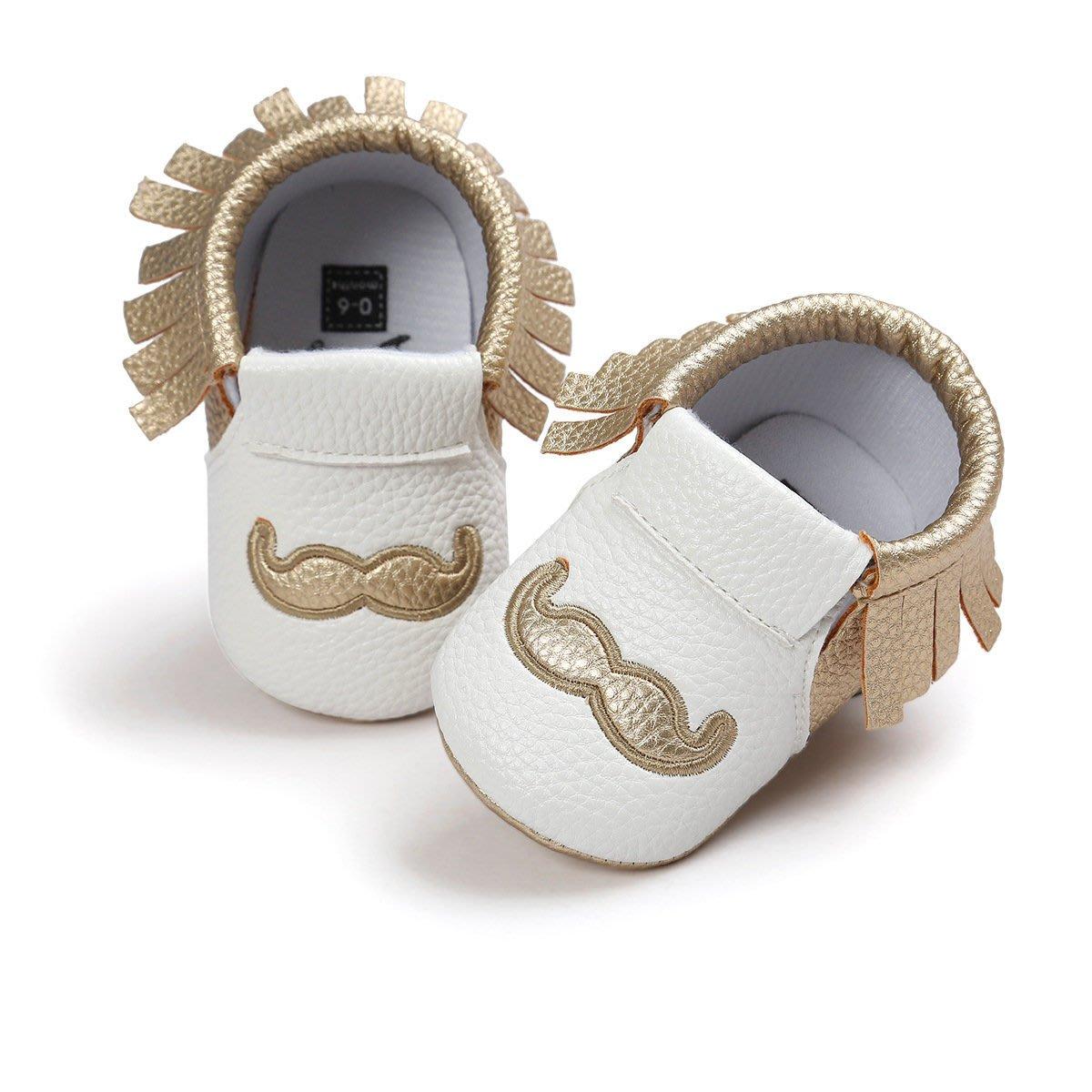 鞋鞋樂園-軟底-金鬍子流蘇不掉鞋-學步鞋-寶寶鞋-嬰兒鞋-幼兒鞋-童鞋-歐美鞋款-鬆緊帶設計-坐學步車穿-彌月送禮