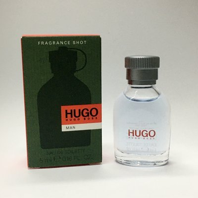 Boss HUGO Boss MAN 男性淡香水 小香 5ml~線上美妝店