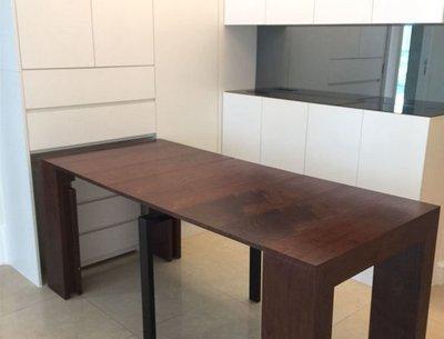 elements-furniture.com 日出康城  首都  訂做拉伸枱柜   22個色 訂做全屋傢私 可裝渗光燈