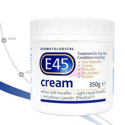 售完~小桃子【E45-003】英國 E45 舒緩敏感潤膚霜 350g 效期2019/10 當天出貨