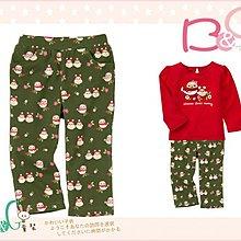 【B& G童裝】正品美國進口GYMBOREE Owl Knit Pant 母子貓頭鷹圖樣綠色長褲2,4yrs