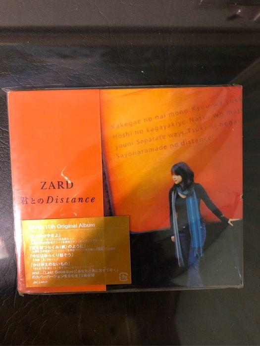 全新 正版 日版 ZARD 君とのDistance