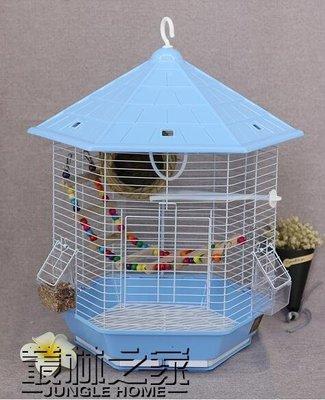 鸚鵡鳥籠 鐵藝鳥籠 金屬外掛鳥籠 鸚鵡籠子大鳥籠 鳥籠大號方鳥籠