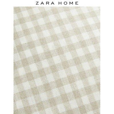 新款寢具抱枕套Zara Home 北歐風格子床頭靠枕套家用抱枕靠墊套 49766008710