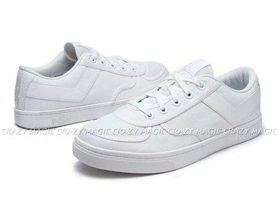 PONY 經典復古 帆布鞋 蔡依林代言款 低筒 全白V 女款 # 91W1SL05RW