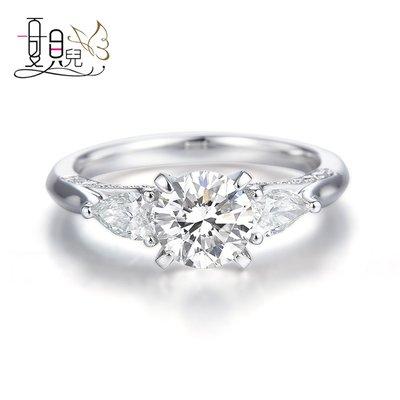 經典時尚 CVD鑽石 1克拉鑽戒