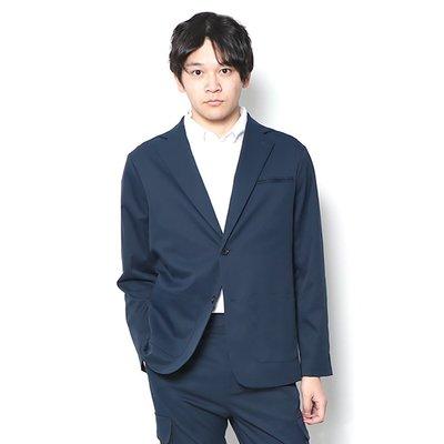【傑森精品】日本 WWS  WORK WEAR SUIT 高機能 輕量 速乾防水防污 免熨 薄款 多功能 拉鏈 西裝外套