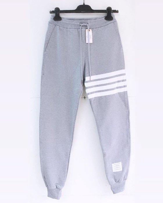 [ 羅崴森林 ] 現貨THOM BROWNE新品湯姆布朗 灰色拉繩束口褲