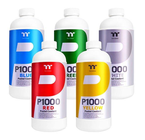 光華CUMA散熱精品*hermaltake P1000 水冷液 CL-W246 鮮豔飽和系列 藍/紅/白/綠/黃~現貨