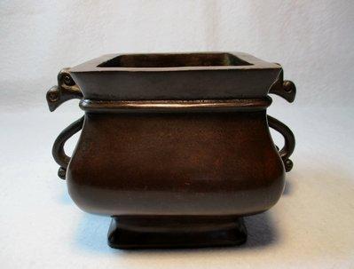 特價[中型古典精品黄銅爐] 宣德年制 貴重和鳳爐/高貴德顯重,進退節合中,人中鳳不同,泱泱君子崇。主高贵大器富貴大吉!