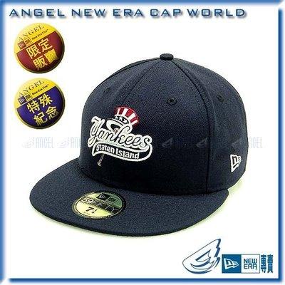 NEW ERA 【ANGEL SHOP】MLB 王建民 紐約洋基短A史泰登島洋基訂製帽(藍白款) 特價商品
