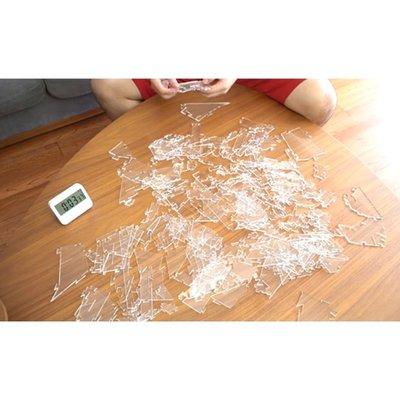 新風小鋪-Puzzle The Accident 215片碎玻璃抖音GM同款高難度拼圖益智玩具