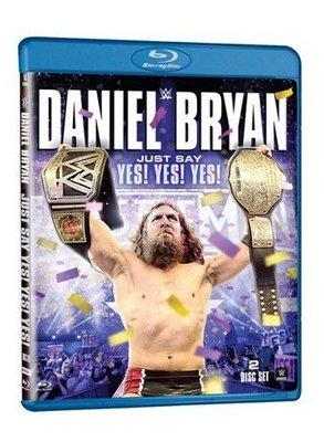 ☆阿Su倉庫☆WWE摔角 Daniel Bryan Just Say Yes! Yes! Yes! Blu-ray 藍光