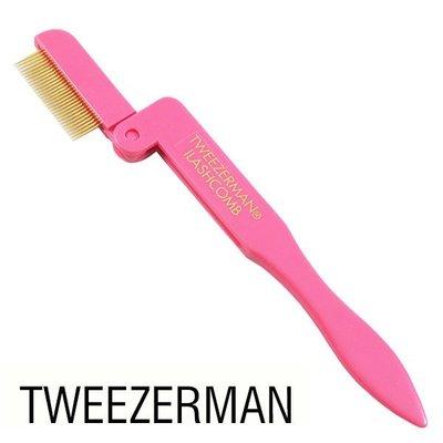 Tweezerman 眉睫梳 可摺疊 - 梳齒緊密根根分明