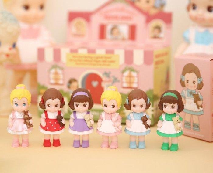 好心情日韓正品雜貨『韓國 Afrocat』Paper Doll Mate 洋娃娃公仔組 (6款各一)