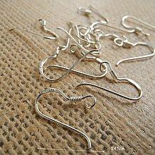 ☆ 惡魔小熊手創925銀飾批發 ☆ 925純銀 DIY材料  耳勾(1組2個)  配件 單顆
