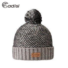 丹大戶外【ADISI】3M THINSULATE 造型雙層保暖帽 AS16165 黑灰
