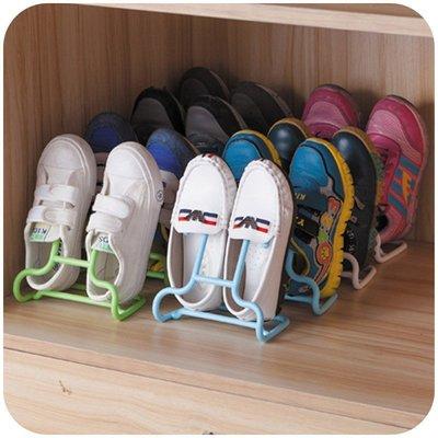 日用居家家 多 家用兒童收納鞋架 簡易陽臺塑料曬晾鞋架鞋子收納架