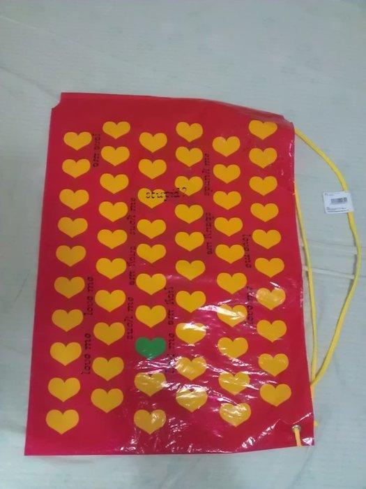 X Japan 2015週邊 Hide yellow heart 束口袋