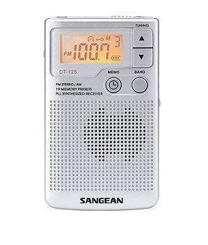 【阿嚕咪電器行】→西門町取貨←SANGEAN 山進 DT-125(2波段收音機)DT125 實體店面