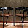 法國復古工業風餐椅 美式早期酒吧休閒椅 咖啡廳酒店燒烤吧開店必備特色桌椅系列 by 我型我色