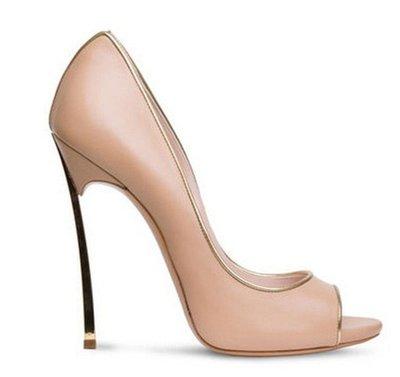 楦巷亦宅 歐美英性感魚口高跟鞋細跟高跟鞋 12 cm / MO15