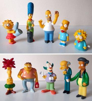 辛普森 家庭 / 漢堡王 2000年發行 / The Simpsons / burger king /10隻不拆售