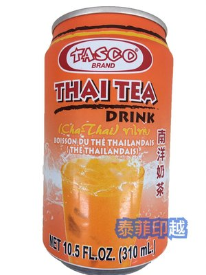 {泰菲印越} 泰國 TASCO THAI TEA DRINK 泰式奶茶 南洋奶茶
