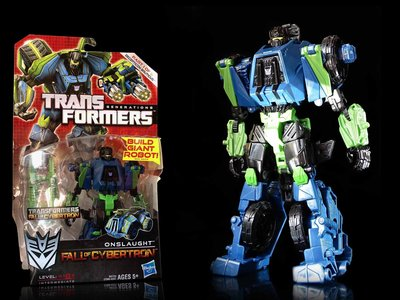 1-2 FW 櫃 已拆現狀品 : ONSLAUGHT 襲擊 TRANSFORMER GENERATIONS  富貴玩具店