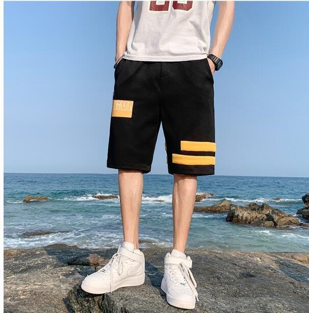 FINDSENSE X 薄款 休閒工裝短褲 多口袋 短褲多袋 速幹 運動 男式 短褲