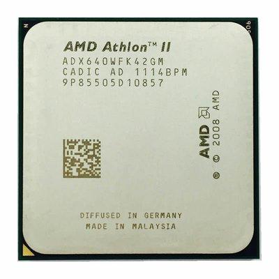【偉鑫資訊】AMD Athlon ll X4  641 FM1腳位 CPU 處理器