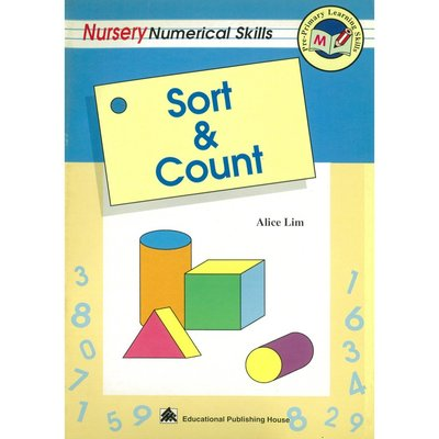 Pre-Primary Learning Skills-Sort & Count (Nur.)兒童美語 早教英語數學