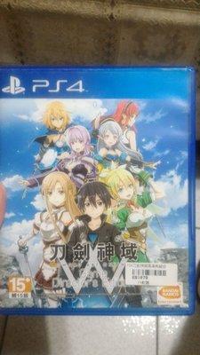 PS4二手品 原版片 中文版 刀劍神域 導演版