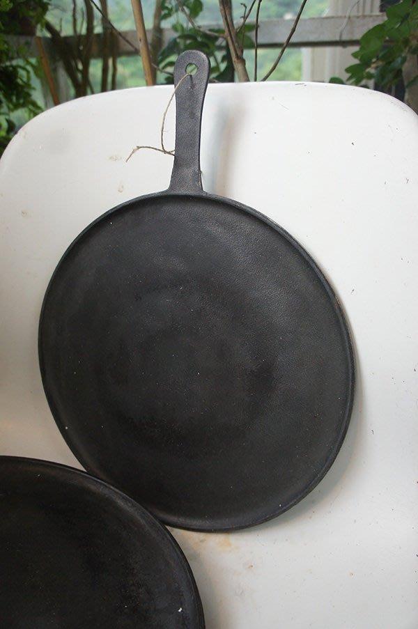 B 法國 Cousances 早期產品 No. 5 鑄鐵鍋 平底鍋 可麗餅 琺瑯鍋