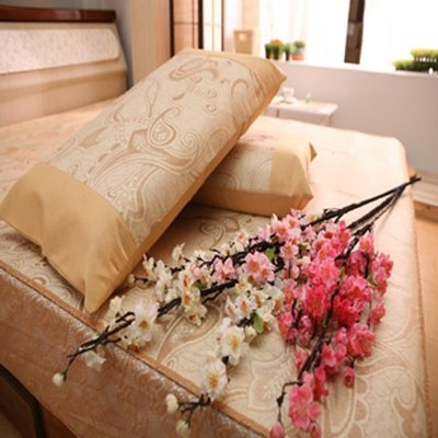 木師傅--- 涼夏 冰絲床包蓆3.5尺單人加大 專利 涼蓆 亞藤蓆 床包