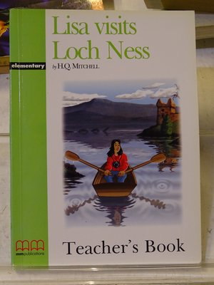 [花椰菜書房] 原文 Lisa visits Loch Ness -Teacher's Book/H.Q.MITCHELL /