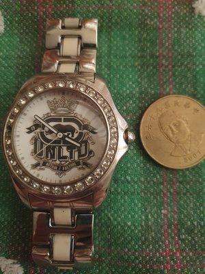 marc ecko二手錶(掉鑽)