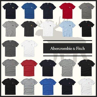 MELEK Clothes 代購正品現貨 【Abercrombie&Fitch】【A&F】 AF男款圓領短袖素T短T