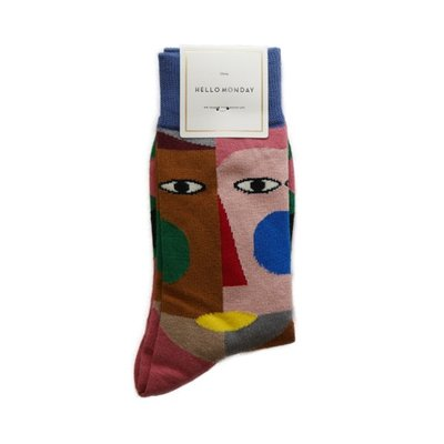 Hello Monday Men/Women Japan Style Sock 男女裝日系襪子#4