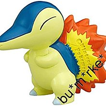 Takara Tomy Pokemon 精靈寶可夢 EX 32 火球鼠 迷你模型Figure Cyndaquil #975793