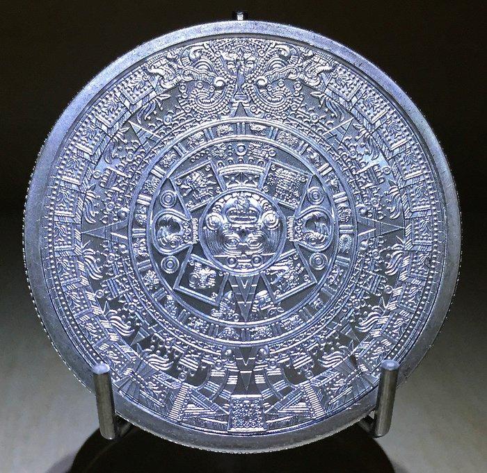 Aztec Calendar 阿茲特克日曆銀幣 (1 toz)