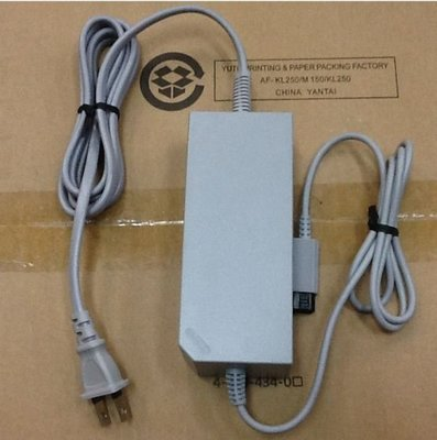 《蘆洲•翔天》Wii 原裝電源 全新福利品 主機盒內拆下