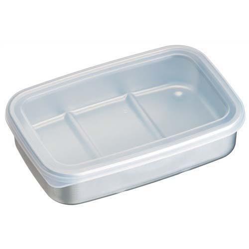 ◎Life Sense◎【SKATER】日本製鋁製急速冷凍保存盒 儲存盒 分裝盒 840ml AKH3