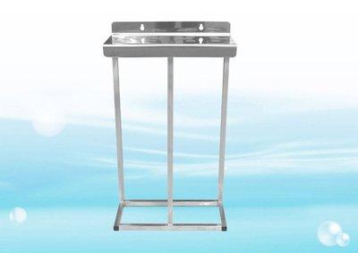 【水易購淨水網】ADD不鏽鋼水塔過濾器腳架《20英吋腳架、大胖2道式》