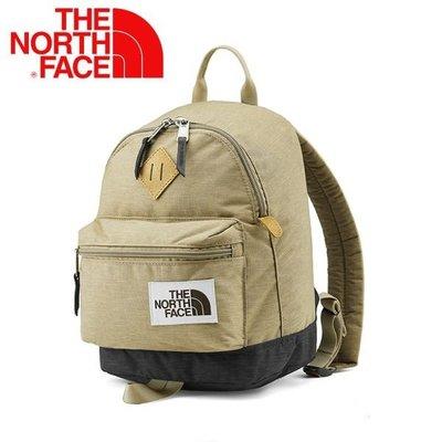 日本 The North Face 卡其色牛津布 MINI BERKELEY 9L 復古 背囊 ( $550 包順豐 )