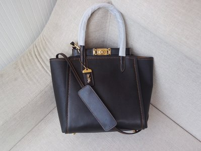 【Woodbury Outlet Coach 旗艦館】COACH 78164 Troupe牛皮托特包美國代購100%正品