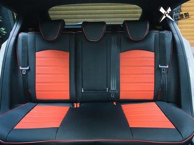 【數碼5D車配職人】數碼王椅套-條紋真皮全包款 LIVINA椅套 TIIDA椅套 MARCH椅套 BLUEBIRD椅套