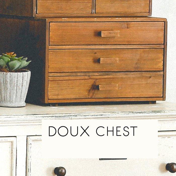 《齊洛瓦鄉村風雜貨》日本zakka雜貨 木質雙門3層收納櫃 桌上收納小櫃子 文具收納櫃 可收納A4桌上櫃