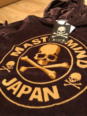 mastermind JAPAN 2013 SS Dreaming series 咖啡色7分袖連帽上衣